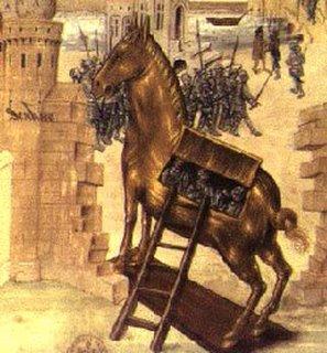 A Teoria do Cavalo de Troia