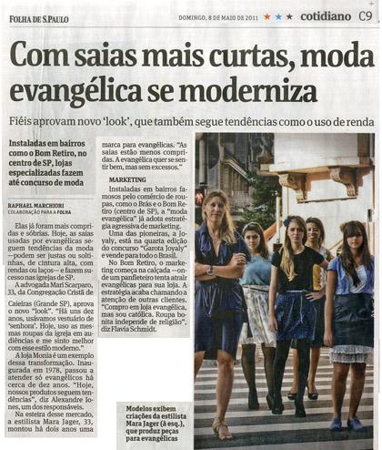 Evangélicos na Folha