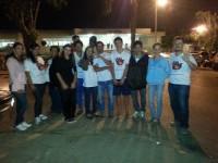 Igreja distribui sopão aos pacientes que estavam na fila do SUS em Brasília.