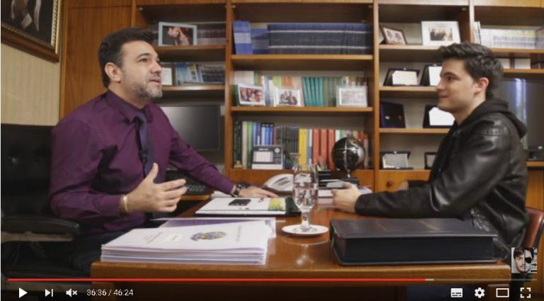 Debate entre Marco Feliciano e Felipe Neto